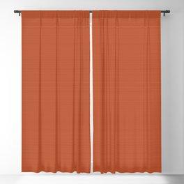 Terracotta 1000°C Blackout Curtain