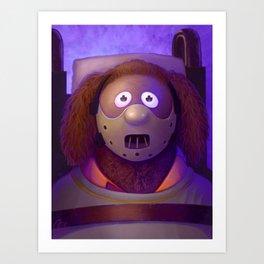 Muppet Maniac - Rowlf Lector Art Print