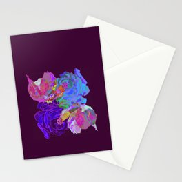 roses meli melo 2 Stationery Cards