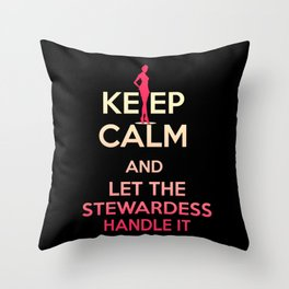 Stewardess Sexy Stewardess Stewardess Costumes Throw Pillow