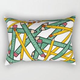 Pencils Pencils Pencils Rectangular Pillow