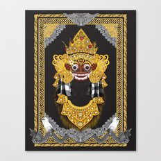 Barong Canvas Print