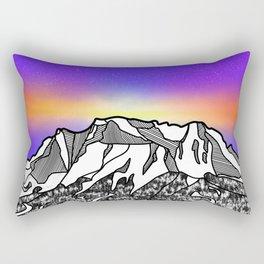 Zugspitze Germany Mountain Rectangular Pillow