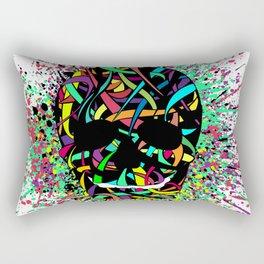 COLOUR SKULL  Rectangular Pillow