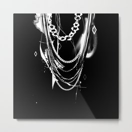 Chain Heavy Metal Print