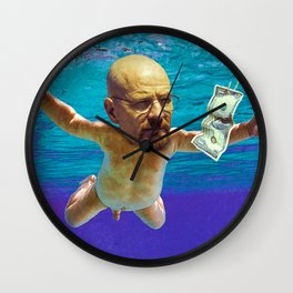 Nevermind ( Breaking Bad ) Wall Clock