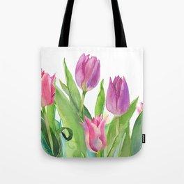 Tulips Tote Bag
