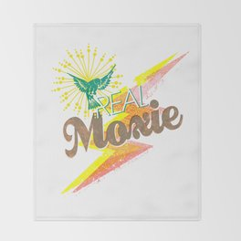 Real Moxie Throw Blanket