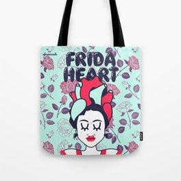 Frida Heart Tote Bag