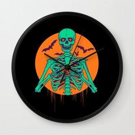I Love Halloween Wall Clock