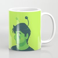 mulder Mugs featuring Spooky Mulder by Sutexii