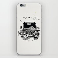 jeep iPhone & iPod Skins featuring Jeep by inktheboot