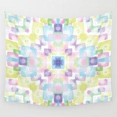 Spring kaleidoscope Wall Tapestry