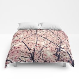 Blizzard of Blossoms Comforters