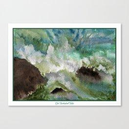 On Violent Tides Canvas Print