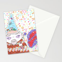 Wizard Smoke Stationery Cards