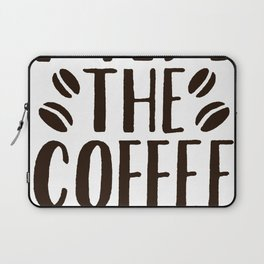 I AM THE COFFEE WHISPERER T-SHIRT Laptop Sleeve