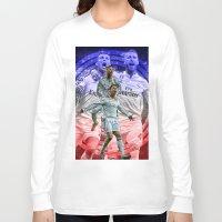 ronaldo Long Sleeve T-shirts featuring Ronaldo & Ramos by Cr7izbest