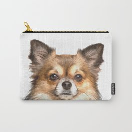 Chihuahua Portrait Carry-All Pouch