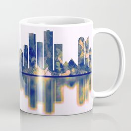 Edmonton Skyline Coffee Mug