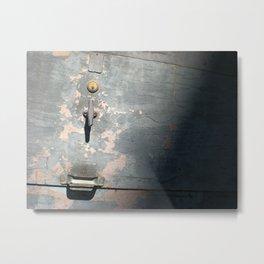 Urban Light and Shadow Metal Print