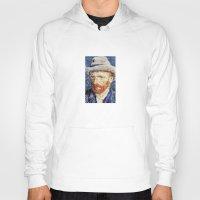 van gogh Hoodies featuring Van Gogh  by klausbalzano