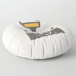 SLR Camera Floor Pillow