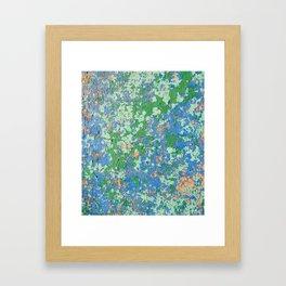Aegean Colors Framed Art Print