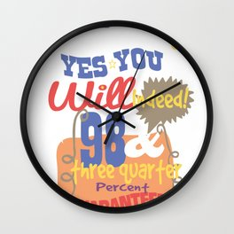 And will you succeed copy Wall Clock