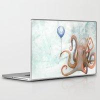 doom Laptop & iPad Skins featuring doom balloon by Richard Bailey