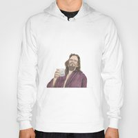 "lebowski Hoodies featuring Jeffrey ""the Dude"" Lebowski by NorthLight"