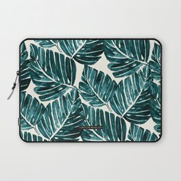 Jungle Leaves Laptop Sleeve