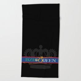 BZE Queens Beach Towel
