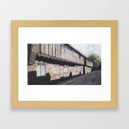 Hanseatic Warehouse Framed Art Print