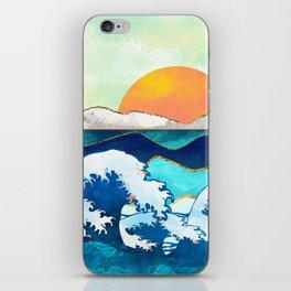 Stormy Waters iPhone Skin
