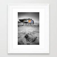 grafitti Framed Art Prints featuring Grafitti Wars by Martin Williams