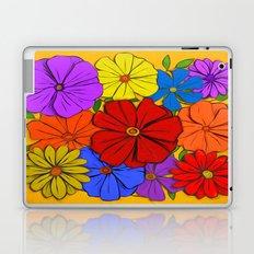 Abstract #346 Flower Power #3 Laptop & iPad Skin