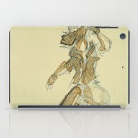 kingdom hearts iPad Cases featuring Sora KINGDOM HEARTS coffee art by DarkGrey Heroine