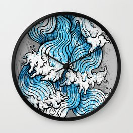 Seven Seas Wall Clock