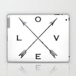 Watercolor Love Arrows Laptop & iPad Skin
