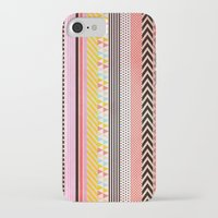 tape iPhone & iPod Cases featuring Washi Tape by Louise Machado