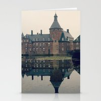 castle Stationery Cards featuring Castle by DuniStudioDesign