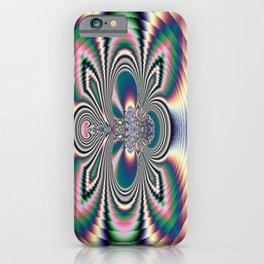 Hypnotic Circles iPhone Case