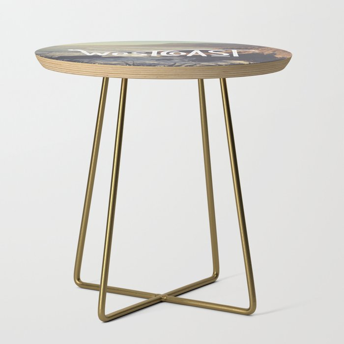 West Coast Nz Side Table By Jackofclubs Society6