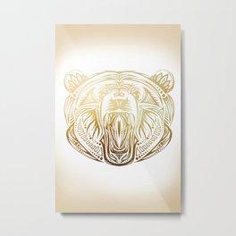 Golden Bear Metal Print