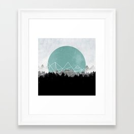Woods Abstract 2 Framed Art Print