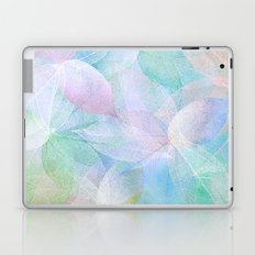 Pastel Colored Leaf Skeletons Laptop & iPad Skin