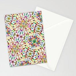 Candy Kaleidoscope  Stationery Cards