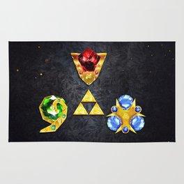 The Timeless Legend of Zelda Inspired Spiritual Stones Rug
