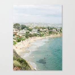 Laguna Beach Lookout Canvas Print